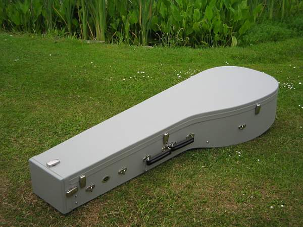 Telescopic theorbo case by Kingham MTM Cases
