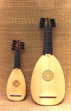 Octave lute